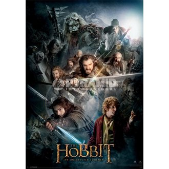 3D-Poster The Hobbit Dark Montage - Pyramid Posters, PYRAMID POSTERS