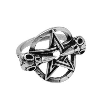 Ring KILLSTAR - Prey - SILBER, KILLSTAR