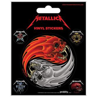 Aufkleber Metallica - PYRAMID POSTERS, PYRAMID POSTERS, Metallica