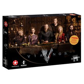 Puzzle Vikings - Ragnar's Court, NNM, Vikingové