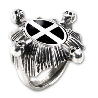Ring Saint Ankou's Shield ALCHEMY GOTHIC, ALCHEMY GOTHIC