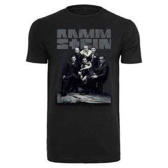 Herren T-Shirt Metal Rammstein - Band Photo - RAMMSTEIN - RS016