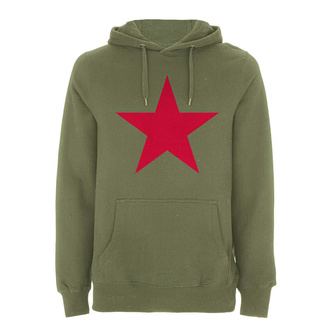Herren Hoodie Rage against the machine - Red Star Olive - NNM, NNM, Rage against the machine