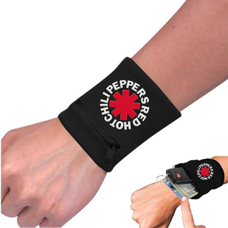 Armband Red Hot Chili Peppers - Asterisk Black, NNM, Red Hot Chili Peppers