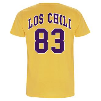 Herren T-Shirt Metal Red Hot Chili Peppers - Los Chili Yellow - NNM, NNM, Red Hot Chili Peppers