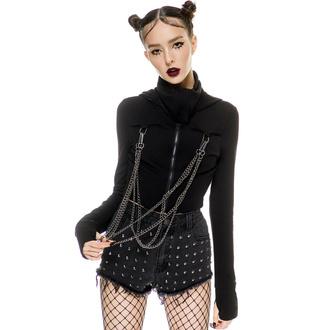 Damen Sweatshirt KILLSTAR - Rogue Masked - Schwarz - KSRA003590