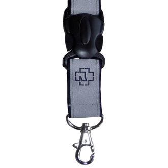 Schlüsselband RAMMSTEIN - Klassik Schlüsselbund - grau, RAMMSTEIN, Rammstein