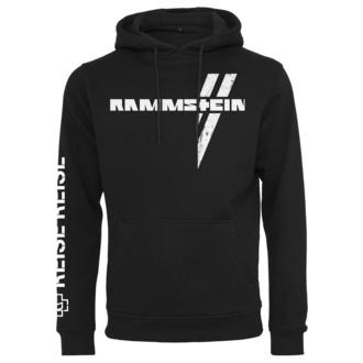 Herren Hoodie Rammstein - Weißes Kreuz - schwarz, NNM, Rammstein