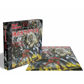 Puzzle IRON MAIDEN - THE NUMBER OF THE BEAST - 1000 Teile, PLASTIC HEAD, Iron Maiden