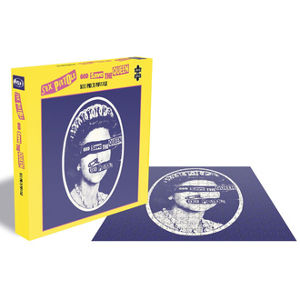 Jigsaw Puzzle SEX PISTOLS - GOD SAVE THE QUEEN - PLASTIC HEAD, PLASTIC HEAD, Sex Pistols