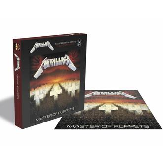 Puzzle METALLICA - MASTER VON PUPPETEN - 1000 Teile, PLASTIC HEAD, Metallica