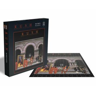 Puzzlespiel RUSH - BEWEGUNG BILDER - 500 JIGSAW STÜCKE - PLASTIC HEAD, PLASTIC HEAD, Rush