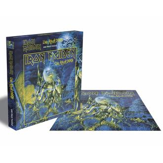 Puzzlespiel IRON MAIDEN - LIVE NACH DEATH - 500 JIGSAW STÜCKE - PLASTIC HEAD, PLASTIC HEAD, Iron Maiden