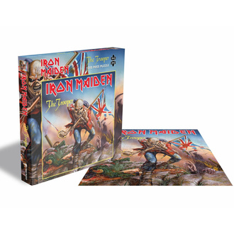 Puzzle IRON MAIDEN - THE TROOPER - 1000 Teile, PLASTIC HEAD, Iron Maiden