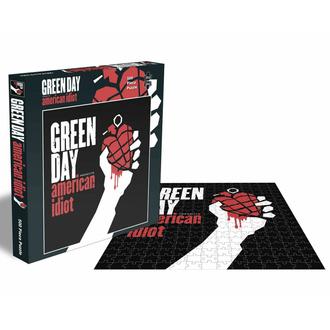 Puzzlespiel GREEN DAY - AMERIKANISCH IDIOT - 500 JIGSAW STÜCKE - PLASTIC HEAD, PLASTIC HEAD, Green Day