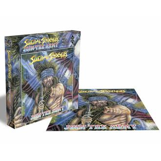 Puzzlespiel SUICIDAL TENDENCIES - JOIN DAS ARMY - 500 JIGSAW STÜCKE - PLASTIC HEAD, PLASTIC HEAD, Suicidal Tendencies