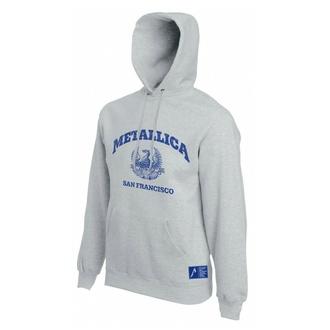 Herren-Sweatshirt Metallica - San Francisco - Grau, NNM, Metallica