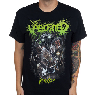 Herren T-Shirt Aborted - Retrogore - INDIEMERCH, INDIEMERCH, Aborted