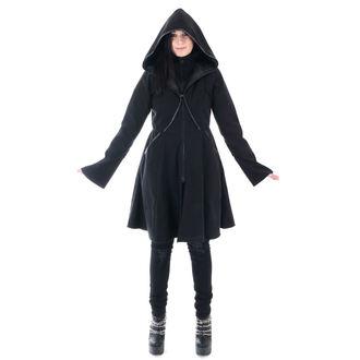 Damen Mantel POIZEN INDUSTRIES - TWILIGHT - SCHWARZ, POIZEN INDUSTRIES