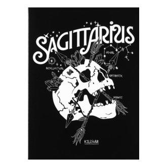 Glückwunschkarte KILLSTAR - Sagittarius - SCHWARZ, KILLSTAR