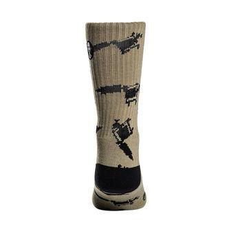 Socken SULLEN - MACHINED - OLIVE / GRAU, SULLEN