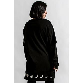 Unisex-T-Shirt langarm KILLSTAR - Shine Bright 2-Layer - Schwarz, KILLSTAR