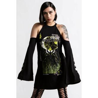 Damenkleid (Tunika) KILLSTAR - Shine Bright Cold-Shoulder - Schwarz, KILLSTAR