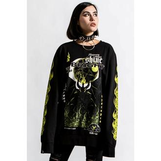 Unisex Sweatshirt KILLSTAR - Shine Bright - Schwarz, KILLSTAR