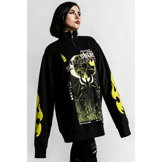 Unisex Sweatshirt KILLSTAR - Shine Bright Track - Schwarz, KILLSTAR