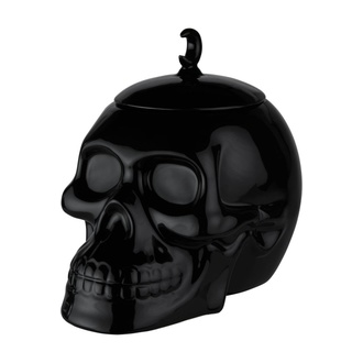 Dekoration Dose für Süßigkeiten KILLSTAR - Skull Cookie Jar - SCHWARZ, KILLSTAR