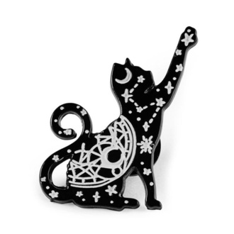 Pin KILLSTAR - Sky Kitty Enamel, KILLSTAR