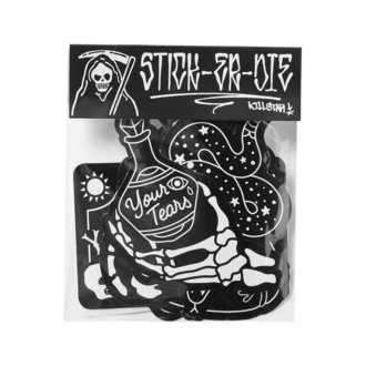 Aufkleber (5er Pack) KILLSTAR - Stick It Sticker - SCHWARZ, KILLSTAR