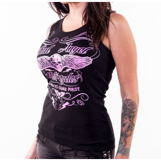 Damen Tanktop LETHAL THREAT - I COME FIRST - SCHWARZ, LETHAL THREAT