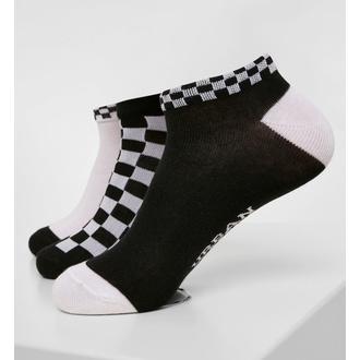 Socken (3 Paare) URBAN CLASSICS - Sneakersocken mit Schachbrettmuster im 3er-Pack, URBAN CLASSICS