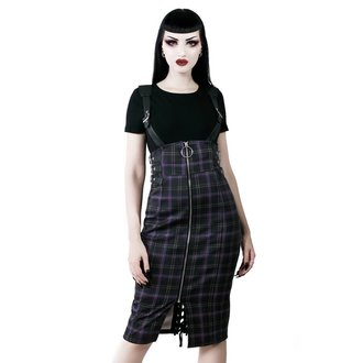 Damen Rock KILLSTAR - Tempest - TARTAN, KILLSTAR