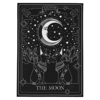 Flagge KILLSTAR - The Moon - SCHWARZ, KILLSTAR