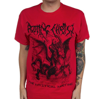 Herren T-Shirt Rotting Christ - The Mystical Meeting - Wahr Rot - INDIEMERCH, INDIEMERCH, Rotting Christ
