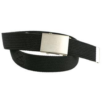 Gürtel PAS-204, BLACK & METAL