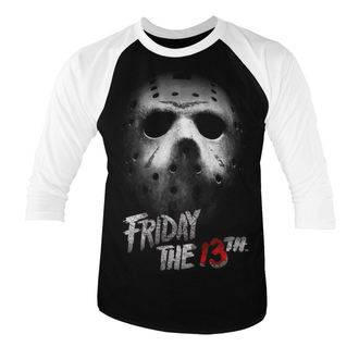 Herren T-Shirt Film Friday 13th - White - HYBRIS, HYBRIS, Friday the 13th