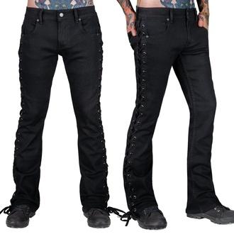 Herren Jeans WORNSTAR - Hellraiser - Schwarz Denim - Schwarz, WORNSTAR