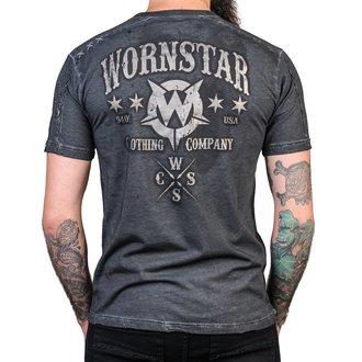 Herren T-Shirt Hardcore - Chop Shop - WORNSTAR, WORNSTAR