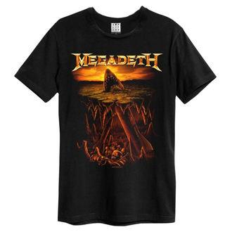 Herren T-Shirt Metal Megadeth - Nuke Shark - AMPLIFIED, AMPLIFIED, Megadeth