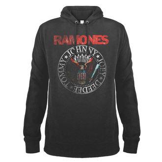 Herren Hoodie Ramones - AMPLIFIED - AMPLIFIED, AMPLIFIED, Ramones