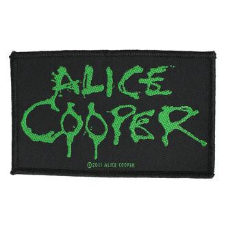 Aufnäher ALICE COOPER - LOGO - RAZAMATAZ, RAZAMATAZ, Alice Cooper