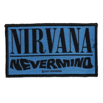 Aufnäher NIRVANA - NEVERMIND - RAZAMATAZ, RAZAMATAZ, Nirvana