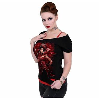 Damen T-Shirt SPIRAL - QUEEN OF HEARTS, SPIRAL