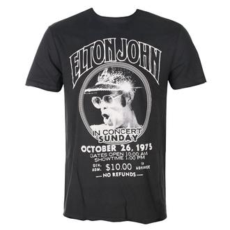 Herren T-Shirt Metal Elton John - LIVE IN CONCERT - AMPLIFIED, AMPLIFIED, Elton John
