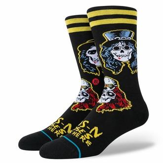 Socken Guns N' Roses - APETITE - SCHWARZ, STANCE, Guns N' Roses