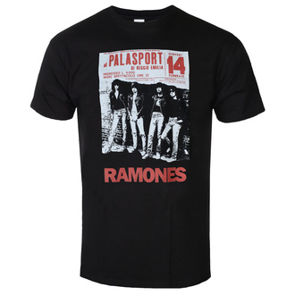 Herren T-Shirt RAMONES - PALASPORT POSTER - SCHWARZ - GOT TO HAVE IT, GOT TO HAVE IT, Ramones