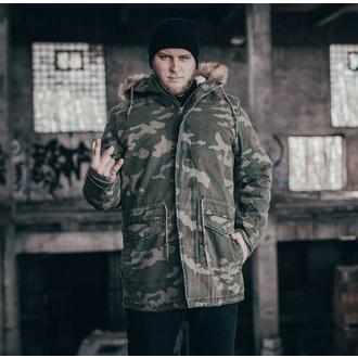 Herren Winterjacke URBAN CLASSICS - Garment Parka - holz camo, URBAN CLASSICS